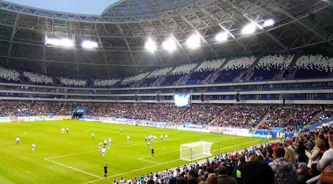 Samara Arena: el estadio del Mundial de fútbol 2018 que parece un OVNI