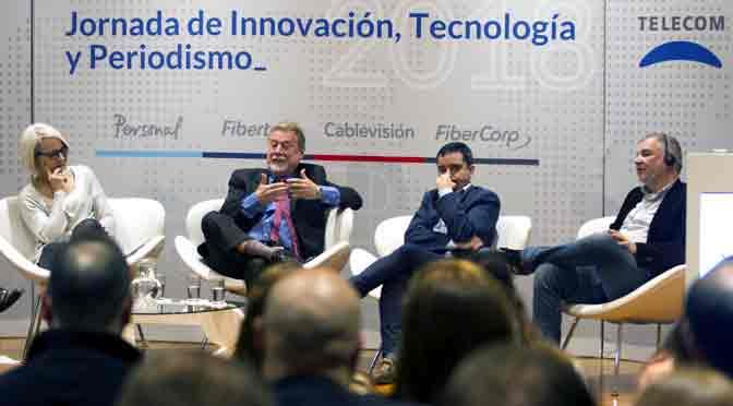 Telecom presentó una jornada de innovación, tecnología y periodismo