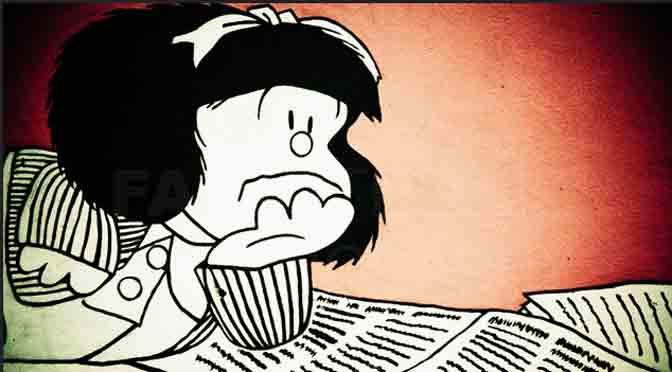 9 tiras de Mafalda para reír y pensar