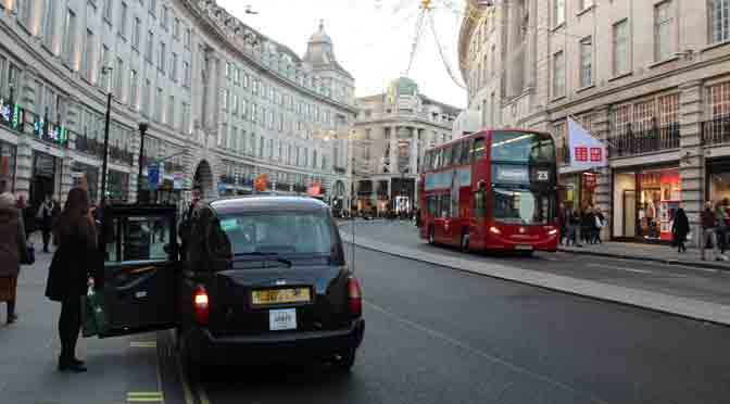 Regent Street, la curva más famosa de Londres