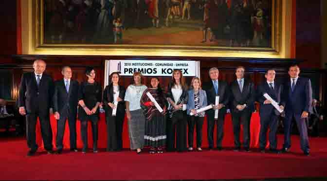 Fundación Telefónica Movistar fue reconocida en los premios Konex 2018