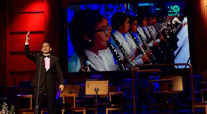 El tenor Juan Diego Flórez, embajador de Telefónica, ofrecerá un recital en la Argentina
