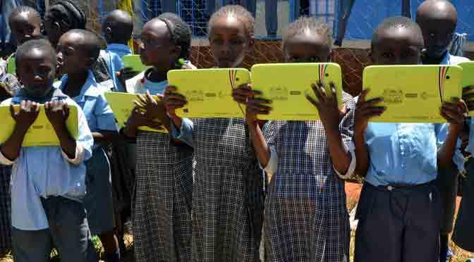 La alfabetización digital de Kenia tiene sabor argentino