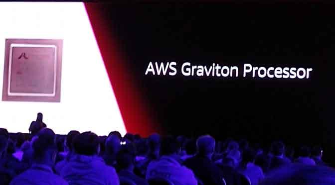 Amazon se adelanta a IBM y Microsoft, y lanza chips para negocios en la nube