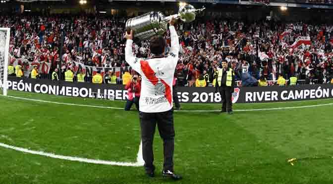 Los hinchas de River seguimos de festejos a un mes de ganar la Copa Libertadores