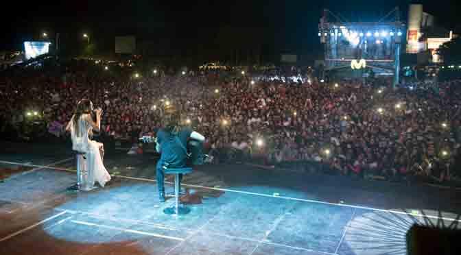 Más de 25 mil personas en el Movistar Fri Music de Pinamar