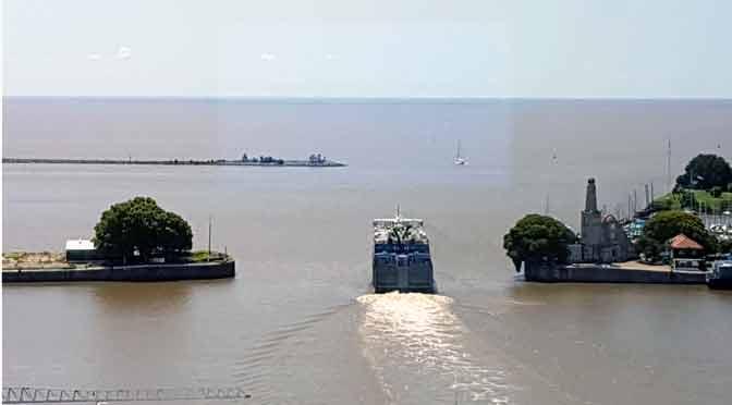 Puerto Madero y Dársena Norte desde el edificio Laminar Plaza