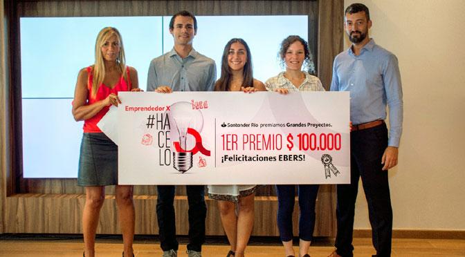 Santander Río elige Proyecto de «e-salud» de Universidad de Córdoba como Emprendedor X 2018