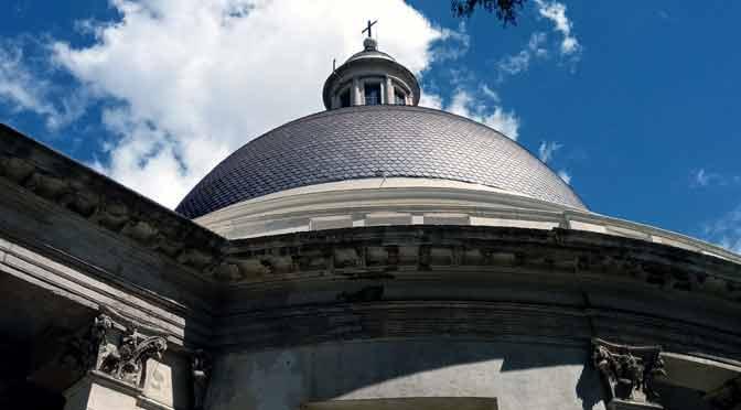 La iglesia redonda de Belgrano desde un Nokia 5.1 Plus
