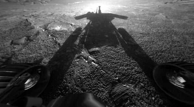 Imágenes de Marte para despedir al Opportunity