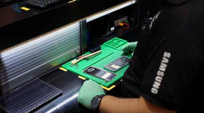 Samsung ofrece reparación de productos en el día en Buenos Aires
