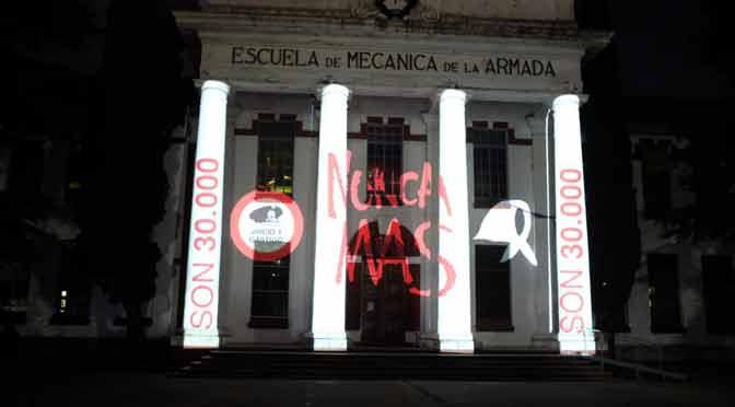 Actividades especiales en la ex Esma por el día nacional por la memoria, la verdad y la justicia