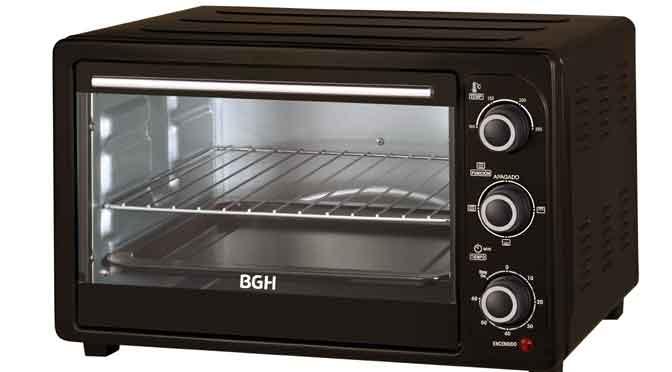 BGH presenta su nueva línea de hornos eléctricos