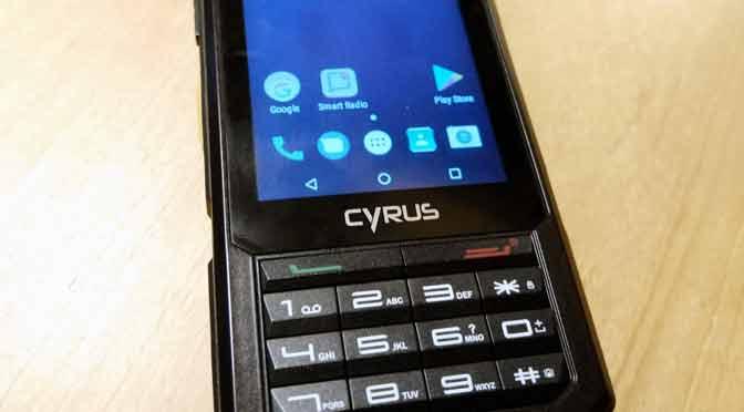 Cyrus, celular resistente para ambientes extremos, llega a la Argentina