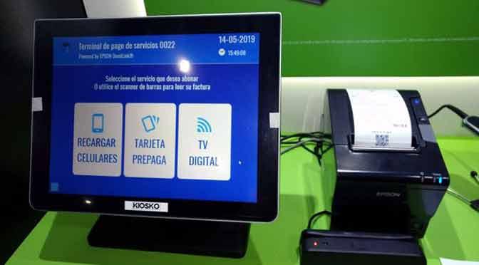 La impresión de tickets se renueva con equipos que interactúan con el consumidor