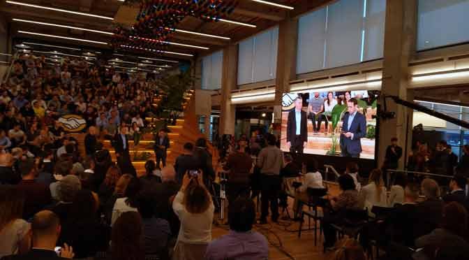 Mercado Libre abre su nueva casa matriz en Buenos Aires