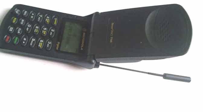 ¿Cuál fue tu primer celular?