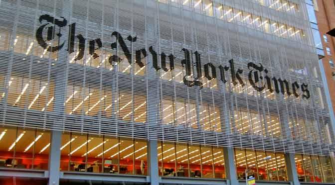 The New York Times deja de publicar viñetas en su edición internacional