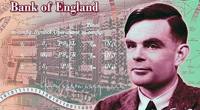 Alan Turing será la imagen del nuevo billete de 50 libras esterlinas