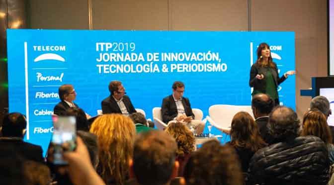Telecom realizó jornada sobre innovación, tecnología y periodismo