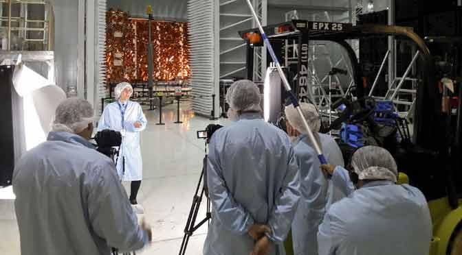 TECtv estrena un documental sobre el satélite SAOCOM 1A