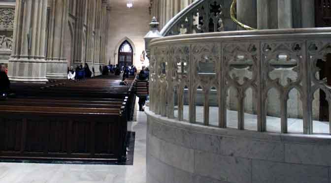 Catedral de San Patricio, un remanso en la Quinta Avenida de New York