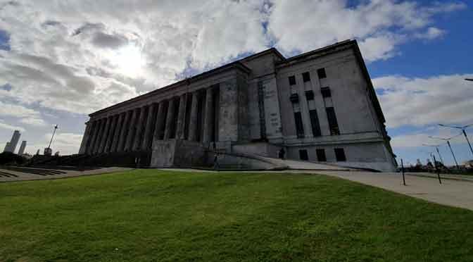 Diálogo arquitectónico entre el CEC y la Facultad de Derecho de la UBA