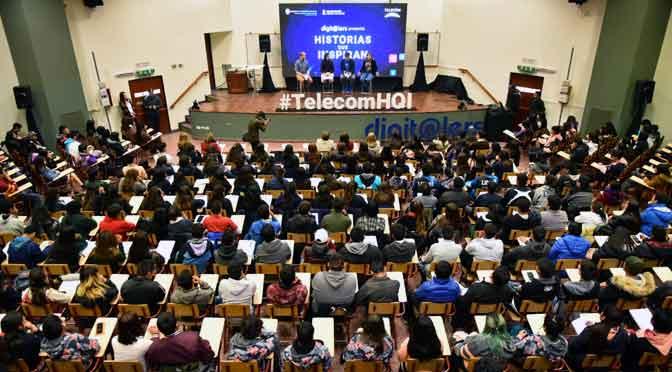 """Más de 900 jóvenes participan en el ciclo """"Historias que inspiran"""" en el Norte argentino"""