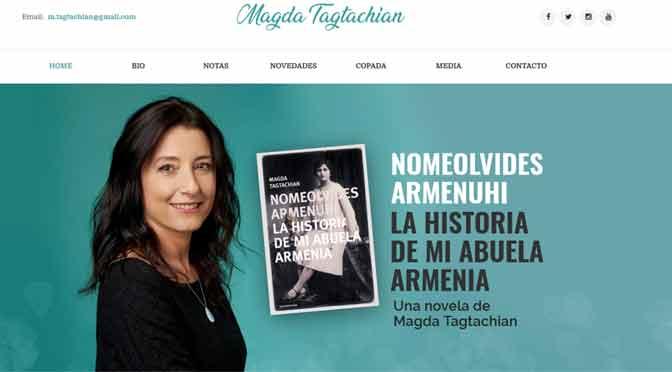Las letras de Magda Tagtachian tienen un espacio propio en la web