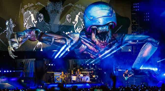 Flow Music XP debutó con Muse ante más de 20.000 personas en Buenos Aires