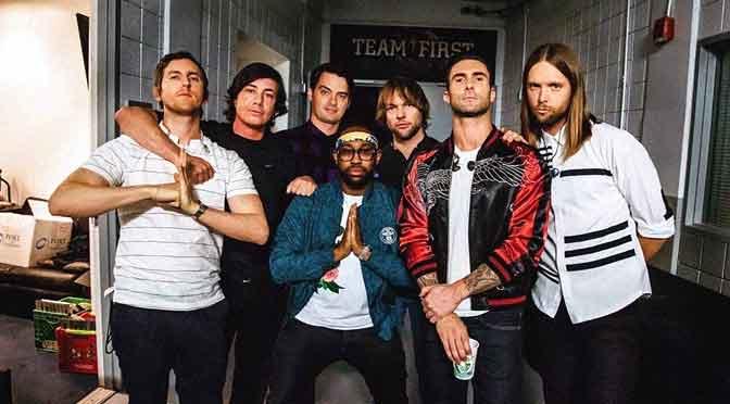 Maroon 5: comenzó la venta para su show en Buenos Aires presentado por Flow Music XP
