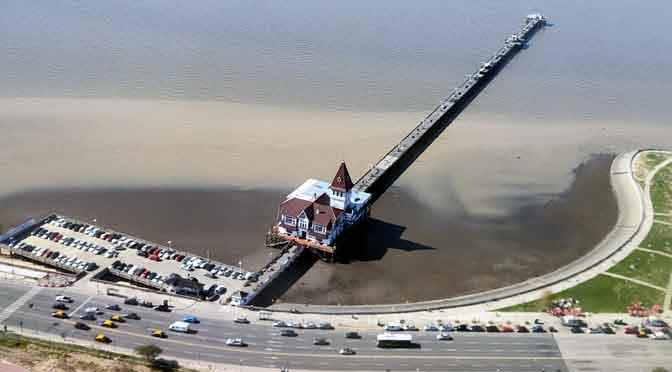 El Club de Pescadores Buenos Aires desde el aire
