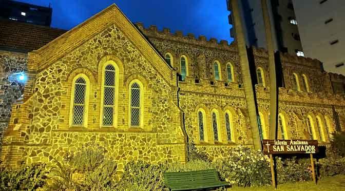 El templo anglicano de Belgrano, una belleza que sobrevive al cemento