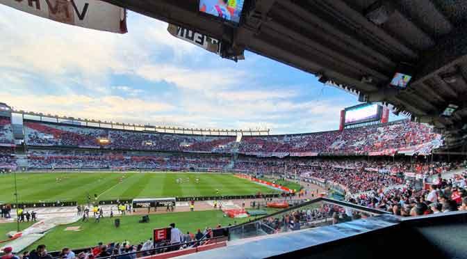 El Monumental de River Plate desde un Samsung Galaxy Note 10+