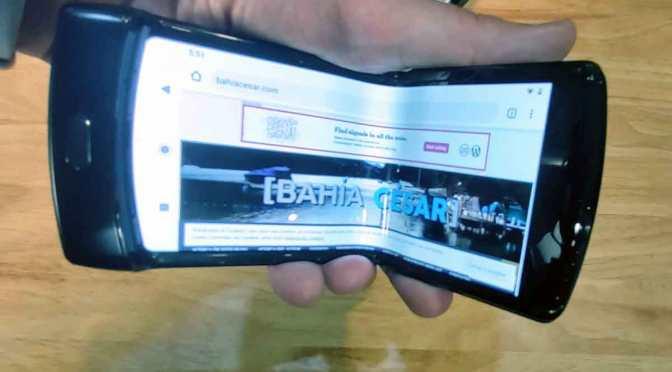 El Motorola Razr 2020 plegable llegará a la Argentina en marzo