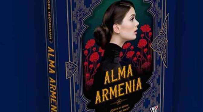 Magda Tagtachian presenta «Alma Armenia», su novela romántica