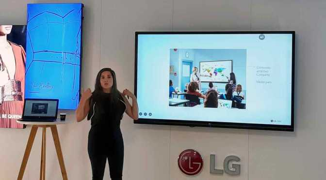 LG lanza en la Argentina una pantalla interactiva para las aulas