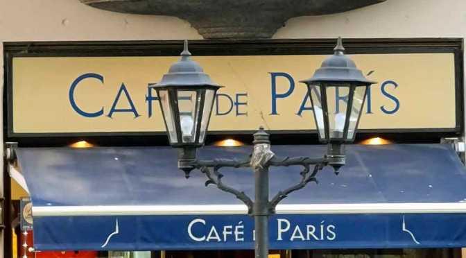 El Café de París de Vicente López antes del ASPO por el coronavirus
