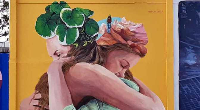 Viví Arte en Puente Saavedra: murales a la distancia