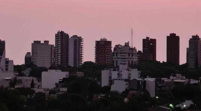 Pruebas de cámaras de Samsung Galaxy S20 Ultra en amanecer en La Lucila