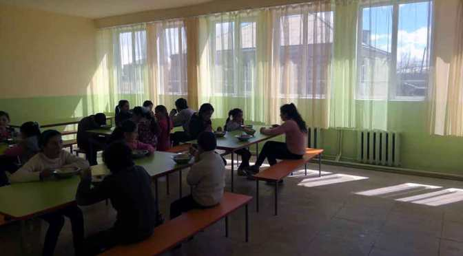 Campaña de recaudación de fondos para escuela de frontera en Armenia