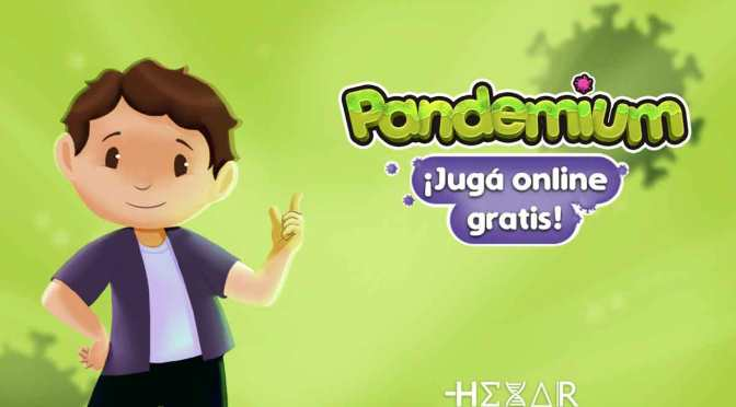 Pandemium, un videojuego para concientizar sobre la prevención de la Covid-19