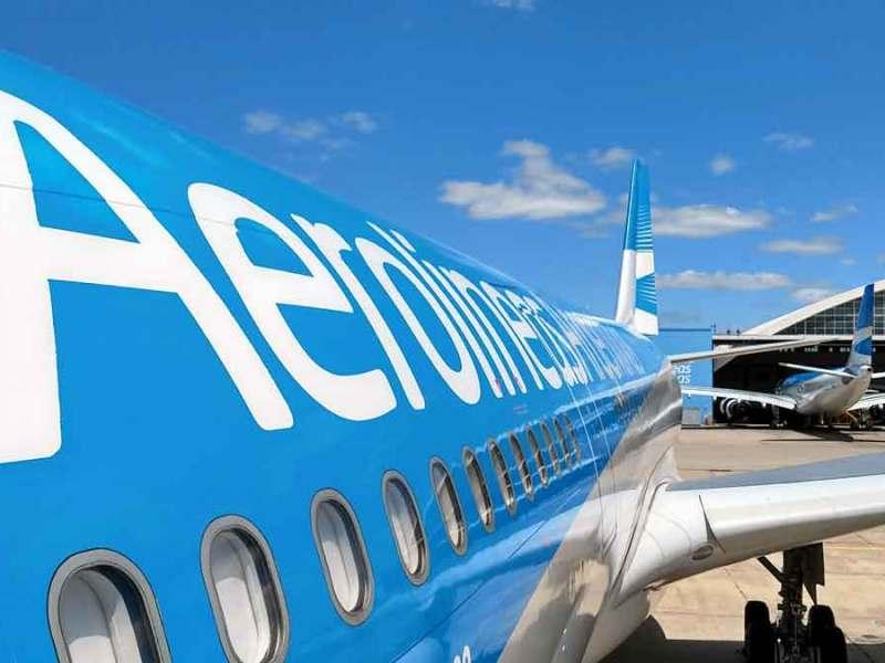 Avión Aerolíneas Argentinas