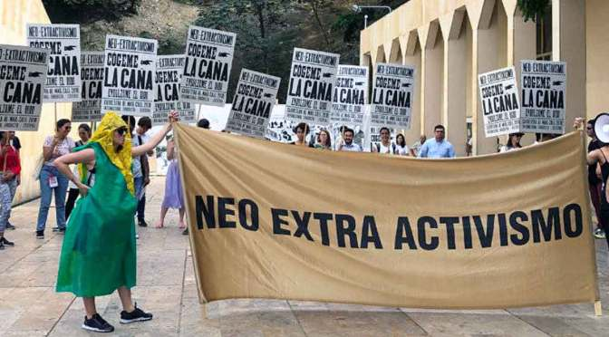 Visita virtual al Museo del Neo-Extractivismo del colectivo Etcétera
