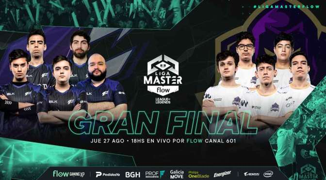 9Z y Undead Gaming, en la final de la Liga Master Flow Clausura 2020