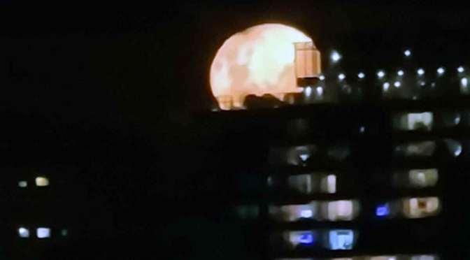 La Luna en Olivos, en 77 fotos desde un Samsung Galaxy S20 Ultra