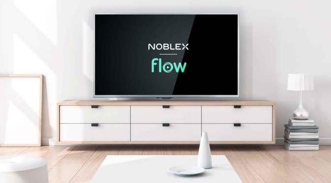 Alianza de Flow y Noblex para el entretenimiento en el hogar