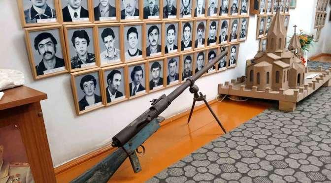Conflicto entre Armenia y Azerbaiján: un museo de la guerra en Artsaj