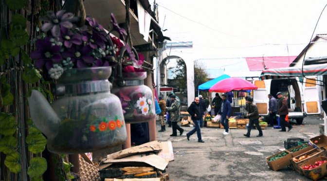 Ayuda solidaria para la población de Artsaj