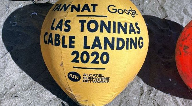 Llega a la Argentina cable submarino de Google para ampliar sus servicios